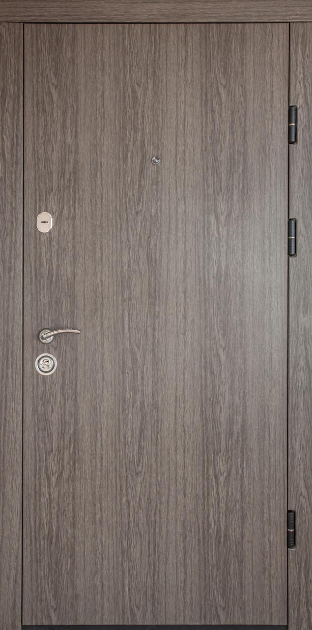 Дверь входная «Министерство Дверей»— ПК-00 V Дуб вулканический Vinorit