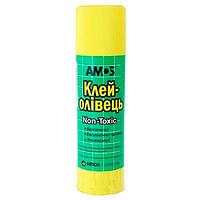Клей-карандаш PVP 35 гр Amos Супер! Am-3235