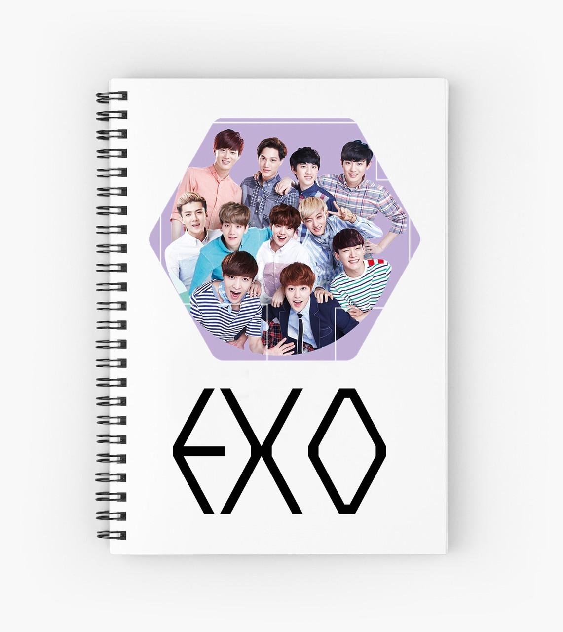 Блокнот EXO 9