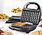 Вафельниця для бельгійських вафель DOMOTEC MS-0505, фото 2