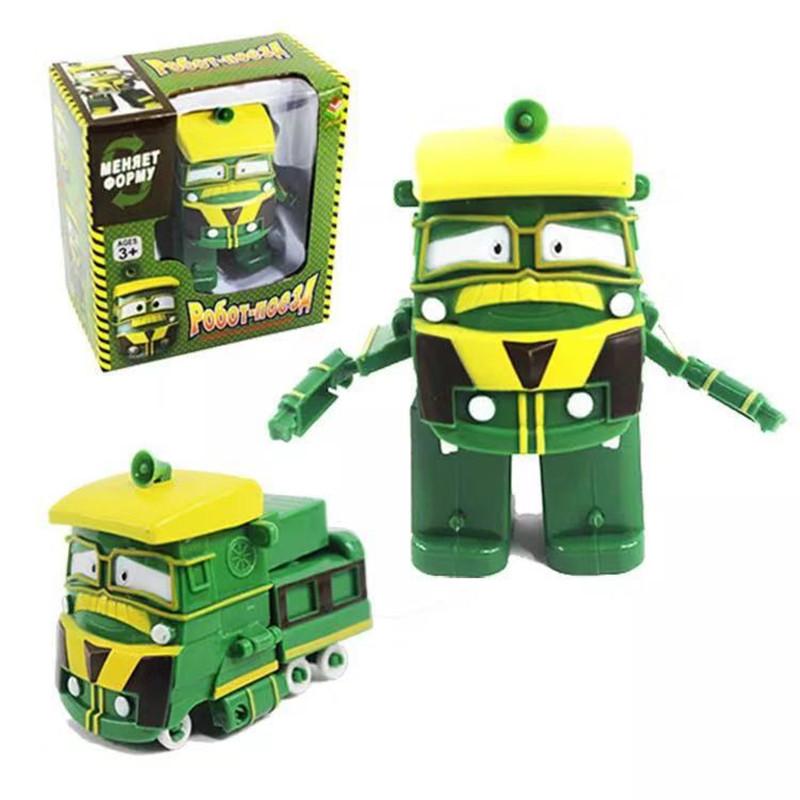 Робот Поїзд Robot Trains Джеффрі (Jeffrey) зелений