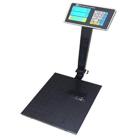 Весы товарные электронные ВПЕ-Центровес-405-150ДВ-ВЗ (150 кг), фото 2
