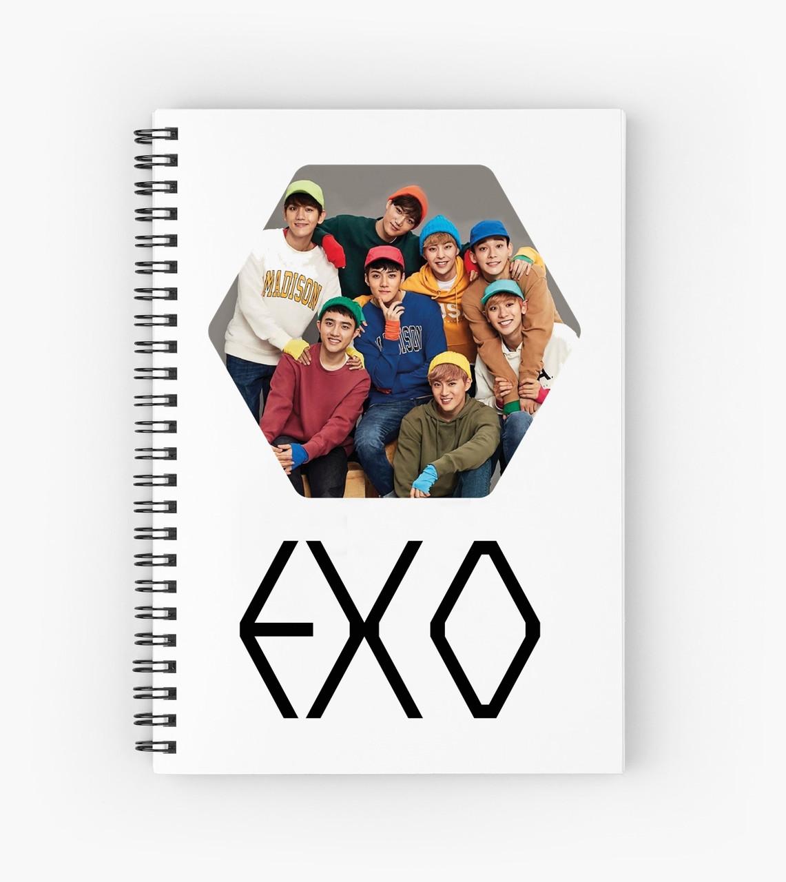 Блокнот EXO 10