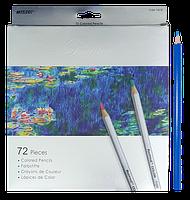 Карандаши цветные Marco Raffine 72 цветов шестигранные 7100-72СВ