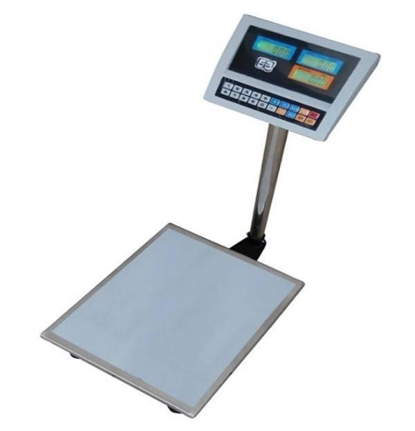 Весы товарные электронные ВПЕ-Центровес-405-150-ДВ (150 кг)