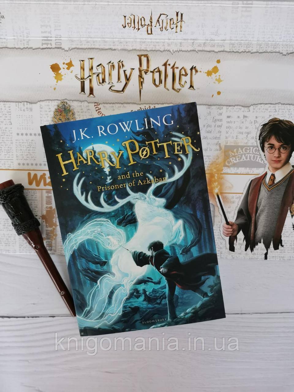 Harry Potter and the Prisoner of Azkaban. J. K. Rowling / Гаррі Поттер і в'язень Азкабану. Дж.До. Роулінг