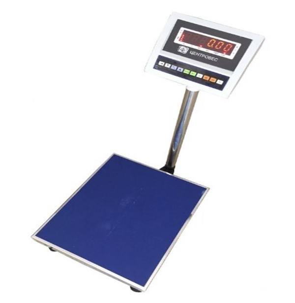 Весы товарные электронные ВПЕ-Центровес-608-300-В (300 кг)