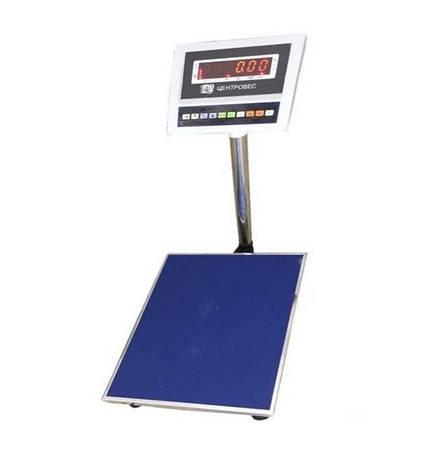 Ваги товарні електронні ВПЕ-центровес-8010-600-В (600 кг), фото 2