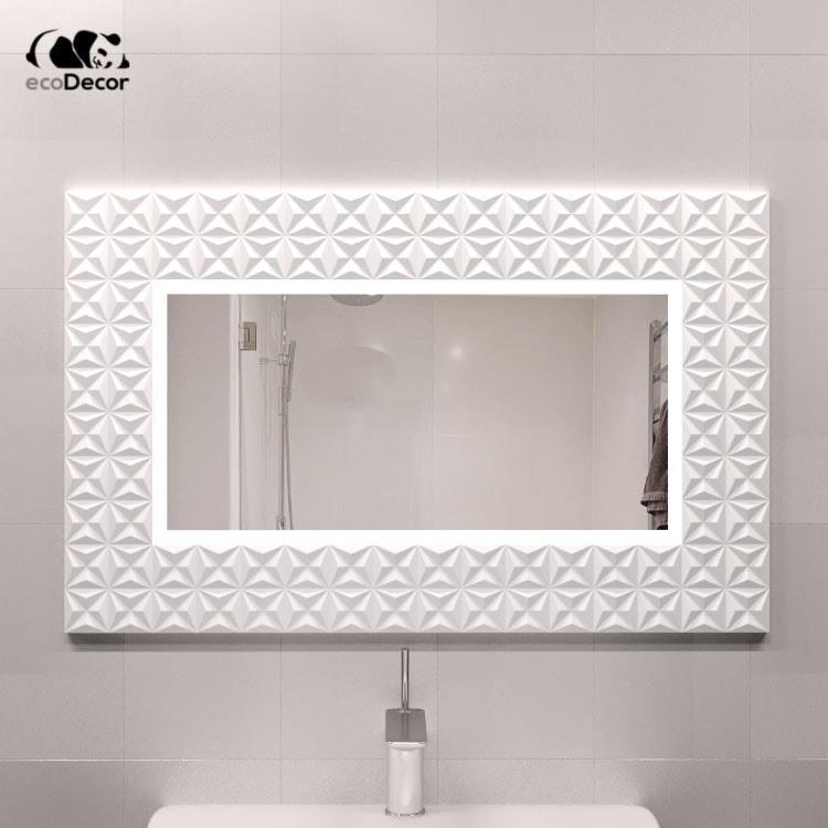 Зеркало с подсветкой белое Daiano