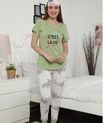 Піжама жіноча Le'Maries Homewear Miss-Gwenny-Green-Vitа