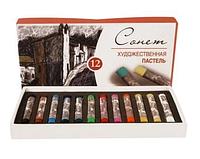 Пастель сухая ЗХК Сонет Художественная 12 цветов 7141223