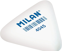 Резинка-Ластик Milan белая треугольная 4045