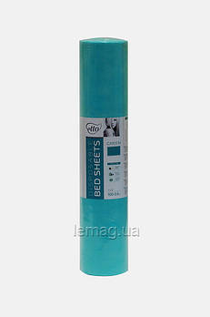 Etto Простыни косметологические в рулоне (смс) ширина 60 см, рулон 100 м  - Зеленый