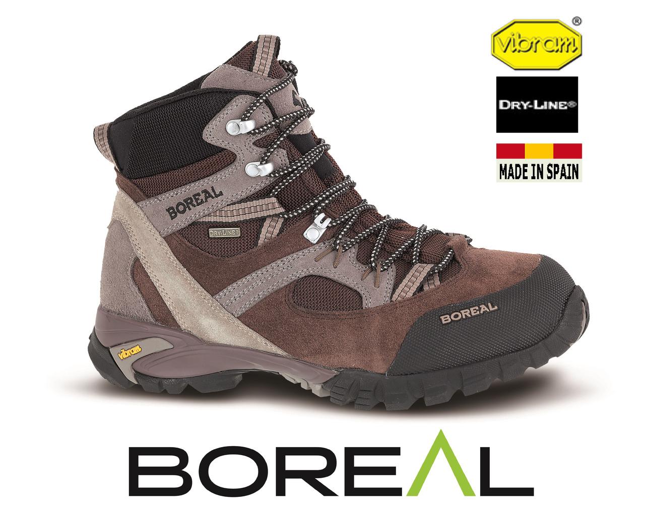 Ботинки треккинговые BOREAL Apache Brown