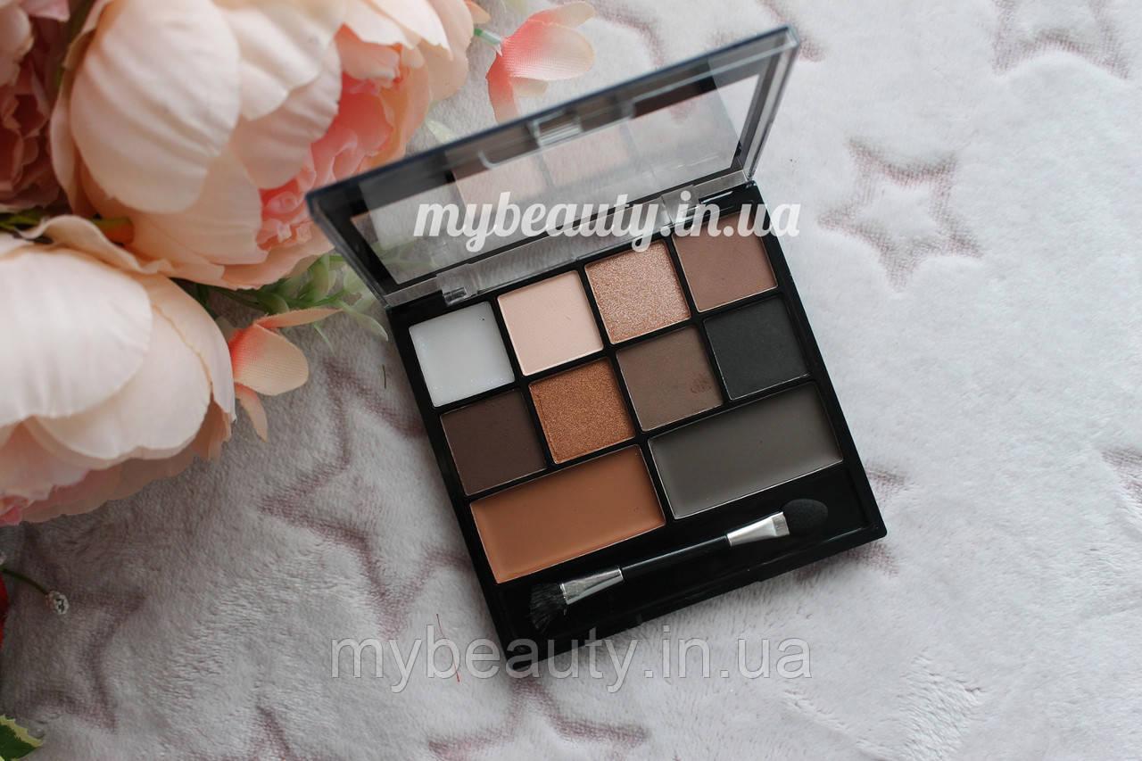 Набір тіней LN Professional Eyeshadows & Brows Pro Palette