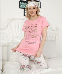 Піжама жіноча Le'Maries Homewear Miss-Lili-new-rose