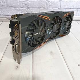 Видеокарта Gigabyte GTX 1080 OC  ( 8Gb DDR5X/ 256bit 1657/ 11010Mhz)