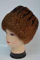 Тёплая женская меховая шапка, фото 1