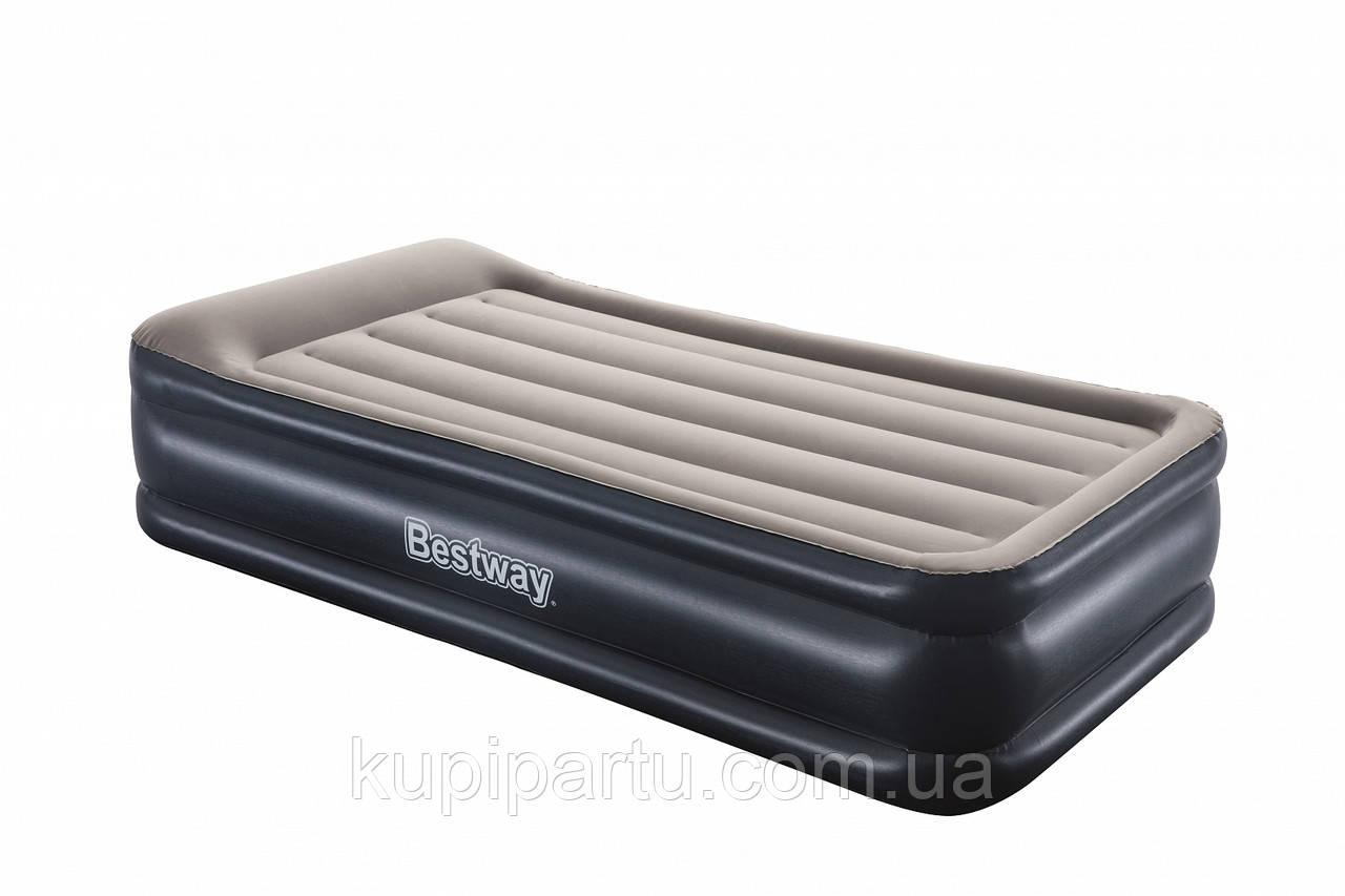 67628 BW, BestWay, Надувная кровать Tritech 191х97х46 см, встроенный электронасос,