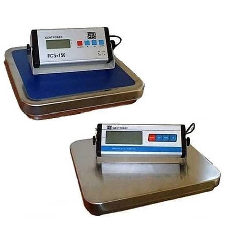 Ваги товарні електронні Центровес FCS-60 (60 кг), фото 2