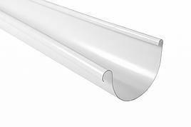 Жолоб пластиковий Profil Д=130мм, дл. 3000мм, колір білий