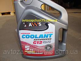 Антифриз червоний Coolant Red G12 (5 літрів) виробник Axxis, Польща