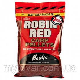 Пеллетс прикормочный для рыбалки по 100 грамм. Пеллетс Dynamite Baits Robin Red 2mm