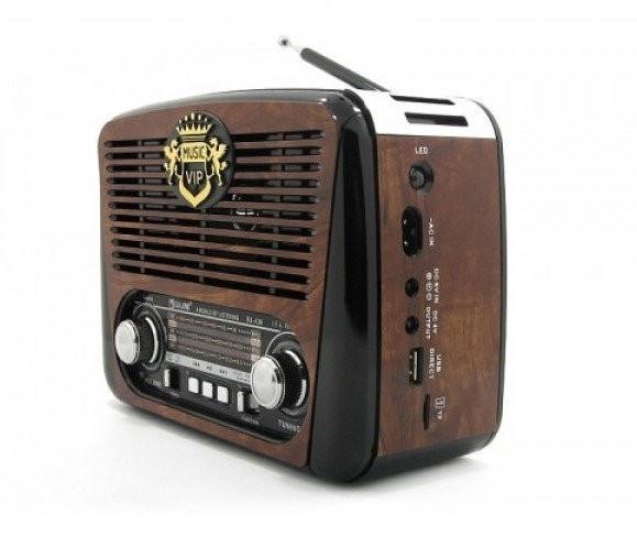 Радио RX 436 Радиоприемник от сети и батареек, Радиоколонка MP3 переносная