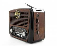 Радіо RX 436 Радіоприймач від мережі і батарейок, Радиоколонка MP3 переносна