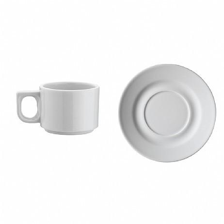 Оренда посуду / Чашка кавова з блюдцем