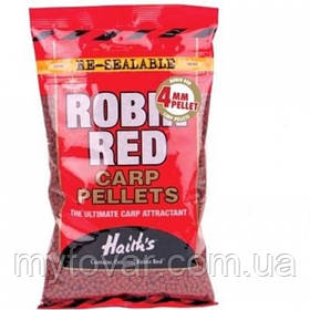 Пеллетс прикормочный для рыбалки по 100 грамм. Пеллетс Dynamite Baits Robin Red 4mm