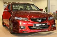 Передняя накладка на бампер Mugen-Style на Honda Accord (2002-2007)