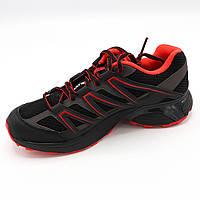 Распродажа. Кроссовки спортивные мужские летние (Черно-красный цвет) сток