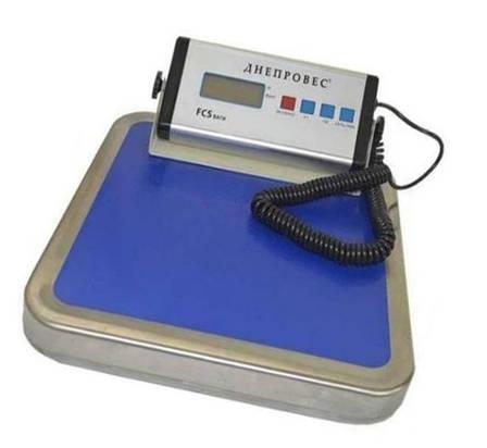 Ваги товарні електронні Днепровес FCS (150 кг), фото 2