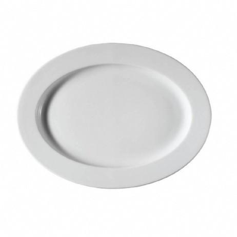 Блюдо овальне 24х17см h-2,8 см Pera
