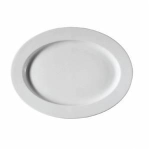 Аренда посуды / Блюдо овальное 32*24,5см h-3,5см