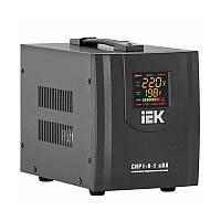 Стабилизатор напряжения релейный IEK HOME CHP1-0-1 кВА (0,8 кВт, переносной)