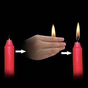 Реквізит для фокусів   Thumb Tip Flame (Напальчник з гнотом), фото 2