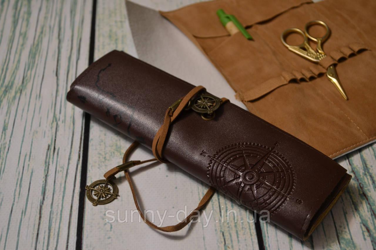 Органайзер для инструмента, цвет - темно коричневый