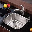 Мойка для кухни KRAUS KBU-11 нержавеющая сталь, фото 4