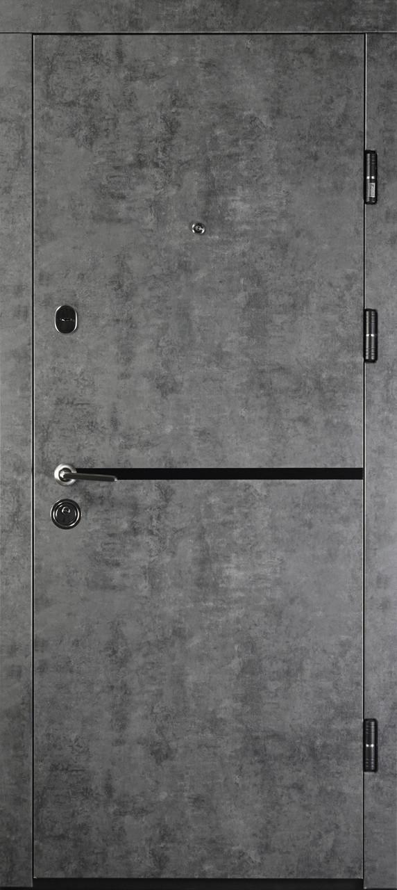 Дверь входная «Министерство дверей»— ПК-209 Элит. Мрамор темный III