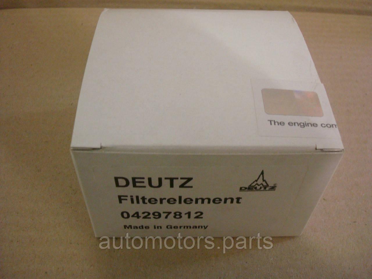 Фильтр топливный Deutz 04297812
