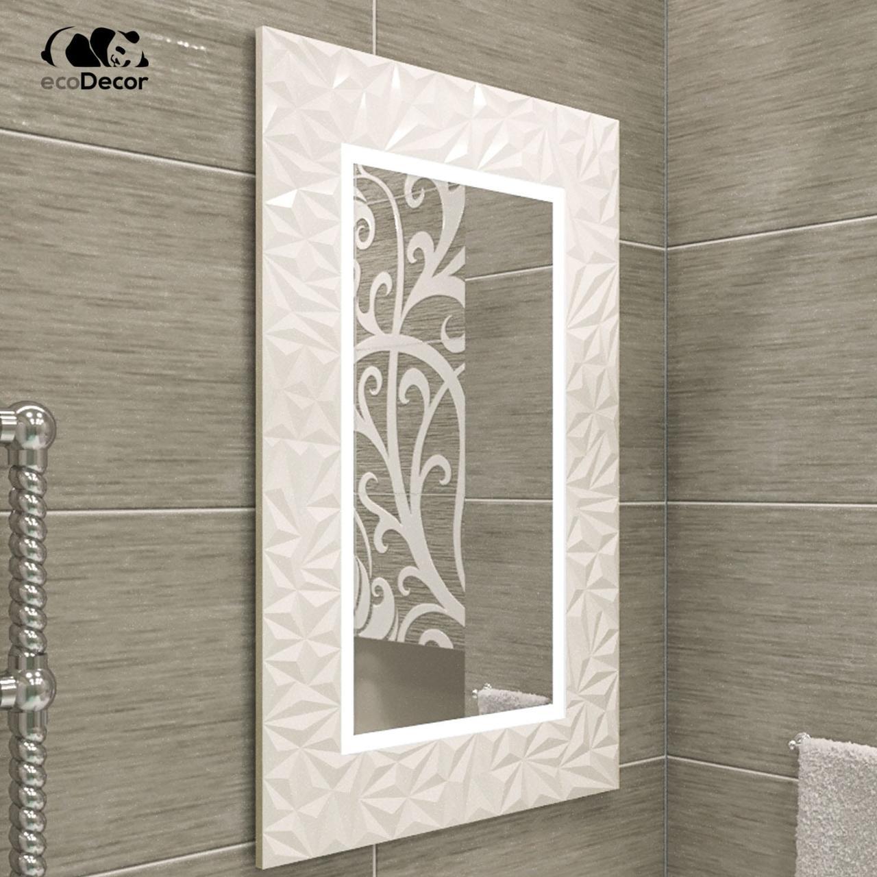 Зеркало с подсветкой белое Verona
