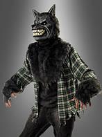 Мужской карнавальный костюм злого волка