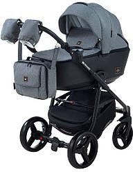 Детская коляска универсальная 2 в 1 Adamex Barcelona BR240 (Адамекс Барселона, Польша)