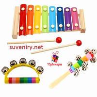 Набір дитячих музичних іграшок