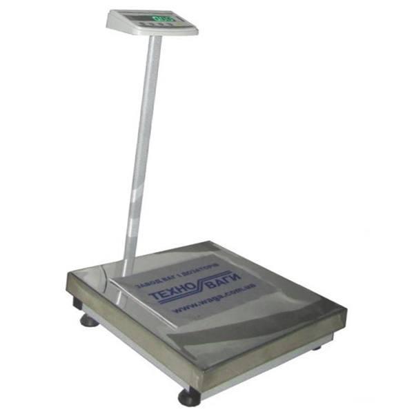 Весы товарные Техноваги ТВ1-12ep (150 кг - 600x700)