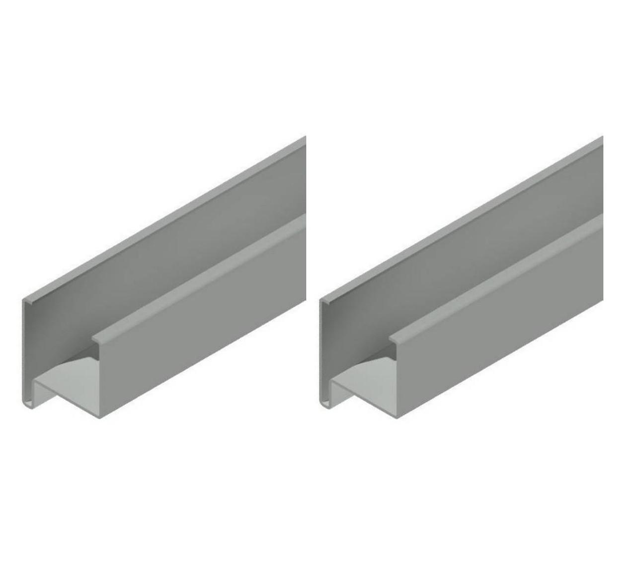 Профиль створки  58 мм.для ставень с поворотными ламелями,пара правый и левый