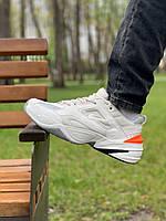 Кроссовки  натуральная кожа Nike M2K Tekno Найк М2К Текно (42,43,44,45)