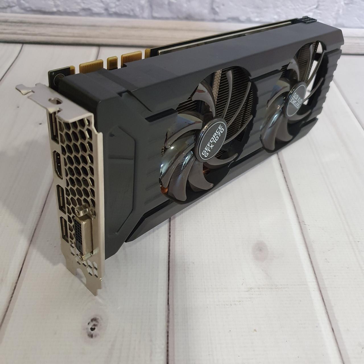 Видеокарта Nvidia GTX 1070 OC ( 8Gb DDR5/ 256bit 1683/ 8000Mhz)